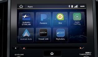 2019 Impreza Apple CarPlay and Android Auto