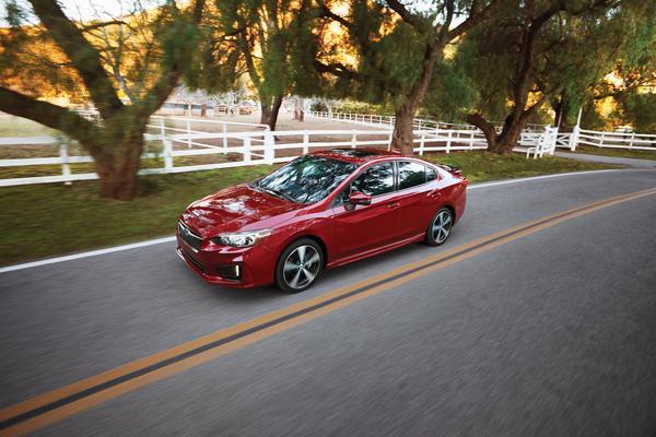 2019 Subaru Impreza Sedan and 5-Door Model