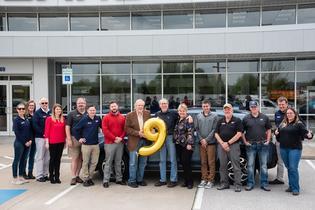 Subaru of America, Inc. sells nine-millionth vehicle