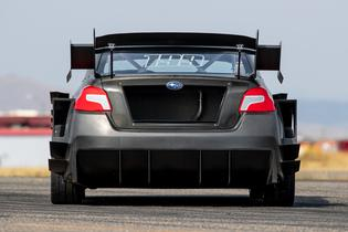 With no series rules dictating its performance, this STI represents a clean-sheet mindset.
