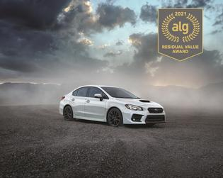 Best Sports Car. According to ALG, the 2021 Subaru WRX retains its value better than any other vehicle in its class. The WRX has the highest residual value in its class for seven years running.