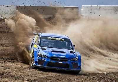 The Nitro Rallycross concept features a bigger, wilder take on existing forms of rallycross, with bigger jumps, more dirt sections and highly banked corners.