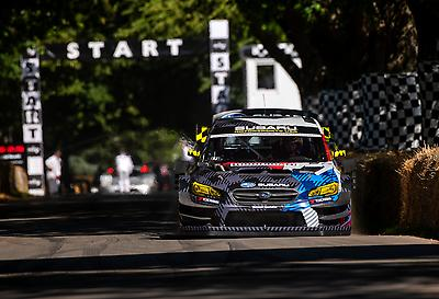 Following practice runs on Thursday and Friday, Pastrana and the Airslayer STI sat third overall.
