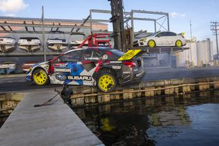 Subaru's Launch Control: Road to Gymkhana miniseries offers an all-access look at the process of designing, building, and testing the world's wildest WRX STI – Travis Pastrana's 2020 Gymkhana car.
