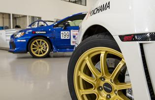 Both One Lap of America entries from Yokohama and Subaru will wear the Yokohama Motorsports-designed ADVAN A052 tire mounted on Method Race Wheels' MR503 Rally wheel.