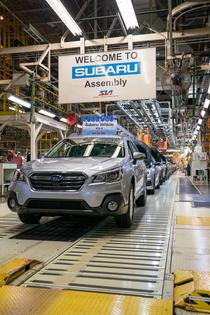 Subaru of Indiana Automotive produces 4 millionth Subaru vehicle