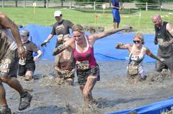 Subaru sponsored mud run