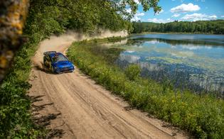 The series' eighth season covers the return of Travis Pastrana to full-time rallying, including his first U.S. win since 2017 at Ojibwe Forests Rally.