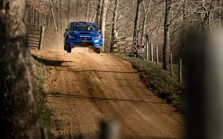 100 Acre Wood is known for extremely fast roads, variable conditions and the infamous Cattle Guard jump, as well as an entry list that tops 90 cars.