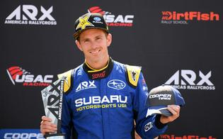 ARX championship leader Scott Speed closed the weekend with a third-place finish, earning critical points to protect his title lead.