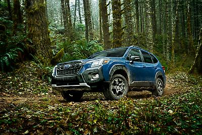 Subaru Announces Pricing on Refreshed 2022 Forester SUV including All-New Forester Wilderness