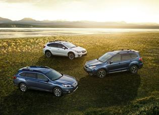 SUBARU SWEEPS CROSSOVER SUV SEGMENT FOR 2016 AUTOPACIFIC IDEAL VEHICLE AWARDS