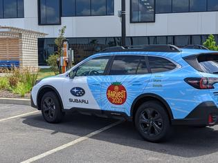 Subaru of America Sponsors Pennsylvania Horticultural Society's Harvest 2020 Hunger Relief Initiative.
