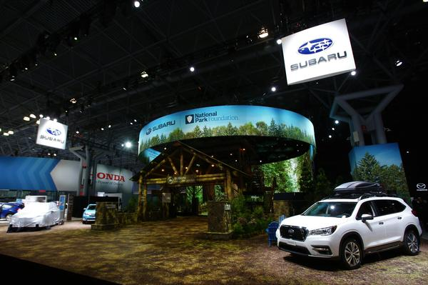 2019 New York International Auto Show / All-New 2020 Subaru Outback Debut
