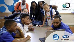 New Jersey's Camden City School District and Discovery Education Launch New K-12 Partnership Supported by the Subaru of America Foundation