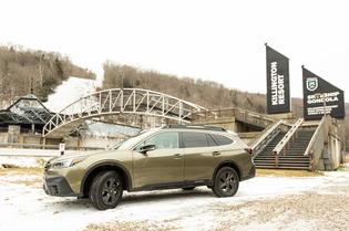 """Subaru climbs to new heights in Killington, Vermont as official vehicle of """"The Beast of the East."""""""