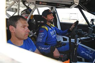 Travis Pastrana and Robbie Durant earned a second-place overall finish in their 2019 season debut with Subaru Motorsports USA.