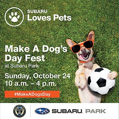FIRST-EVER MAKE A DOG'S DAY FEST AT SUBARU PARK