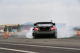 The two-episode miniseries covers every aspect of vehicle development with unprecedented access for a Gymkhana project—from initial design and modeling to aerodynamic testing, jump practice and engine dyno work.