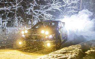 Sno*Drift Rally is known for its challenging conditions and the lack of tire studs, which make grip a struggle for even the best-prepared cars.