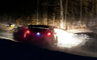 Semenuk survived a late spin in the dark to hold onto his second-place finish, with a margin of more than three minutes over the third-place car.
