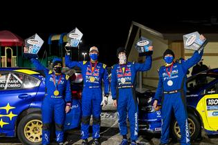 Subaru now leads the championship going into Missouri's 100 Acre Wood Rally, to be held March 19-20.