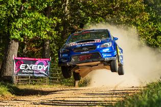 Brandon Semenuk earned his first-ever U.S. rally victory at Missouri's Show-Me Rally, the fourth round of the shortened American Rally Association calendar.