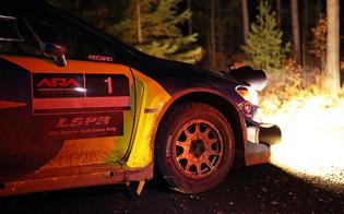 The LSPR event is especially demanding on cars and drivers, with fast, rough roads and stages that run late into the night on Friday.