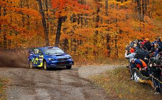 The fall foliage in Michigan's Upper Peninsula provided a spectacular backdrop for LSPR competitors and spectators.