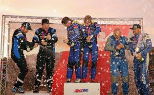 Oliver Solberg and Aaron Johnston picked up the LSPR event win, making it three victories through six ARA rally events this season.