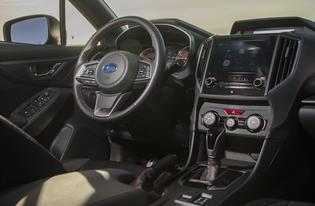 2017 Subaru Impreza-interior pass view