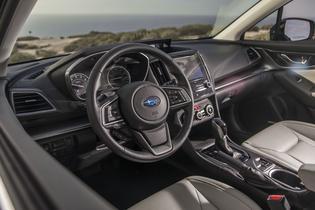 2017 Subaru Impreza -interior driver view