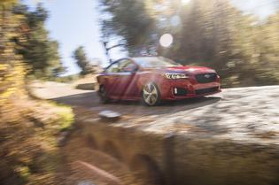 2017 Subaru Impreza Sport -in motion