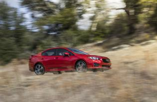 2017 Subaru Impreza Sport Sedan-in motion