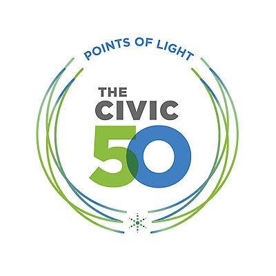 Subaru of America, Inc. was named a 2021 Civic 50 Honoree in recognition of its good corporate citizenship by Points of Light, the world's largest organization dedicated to volunteer service.