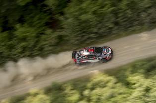 Pastrana and Dorman were victorious at NEFR. Photo Credit: Ben Haulenbeek / Subaru Rally Team USA