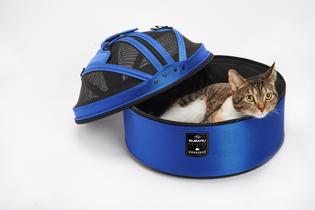 The Subaru pet accessories line includes items from Sleepypod®, which meet the highest standards for safety to reduce pet exposure to possible hazards.