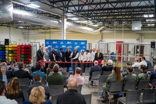 Subaru of Indiana Automotive celebrates grand opening of new Technical Training Center in Lafayette, Indiana on December 11, 2019.