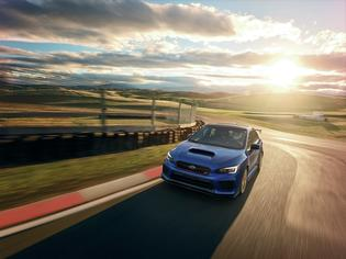 2018 STI Type RA - in motion