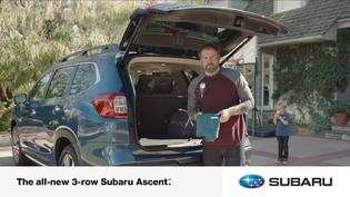 All-new 2019 Subaru Ascent Digital Spot: Spare Clothes