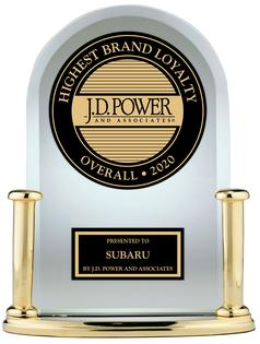Subaru Takes Top Honor in 2020 J.D. Power U.S. Automotive Brand Loyalty Study