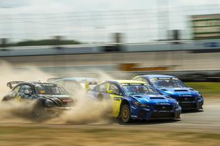 Chris Atkinson and Patrik Sandell led a dominant rallycross weekend for Subaru with a pair of event victories at ARX of Gateway.