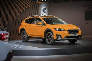 2018 Subaru Crosstrek  at 2017 Geneva International Motor Show