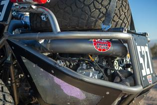 The heart of the Desert Racer is a 2.5L non-turbocharged SUBARU BOXER engine built by Crawford Performance producing 300 horsepower
