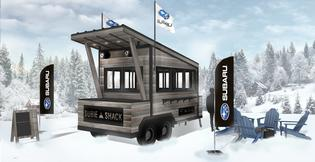 POWDR and Subaru of America extend partnership, deploying new custom outdoor chalet structures called Subie Shacks, at various POWDR locations — offering guest amenities and Subaru owner perks such as pre-packaged menu items, snacks and Subaru prizing.