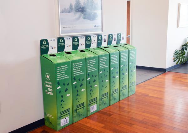 Subaru Loves the Earth: TerraCycle® Partnership