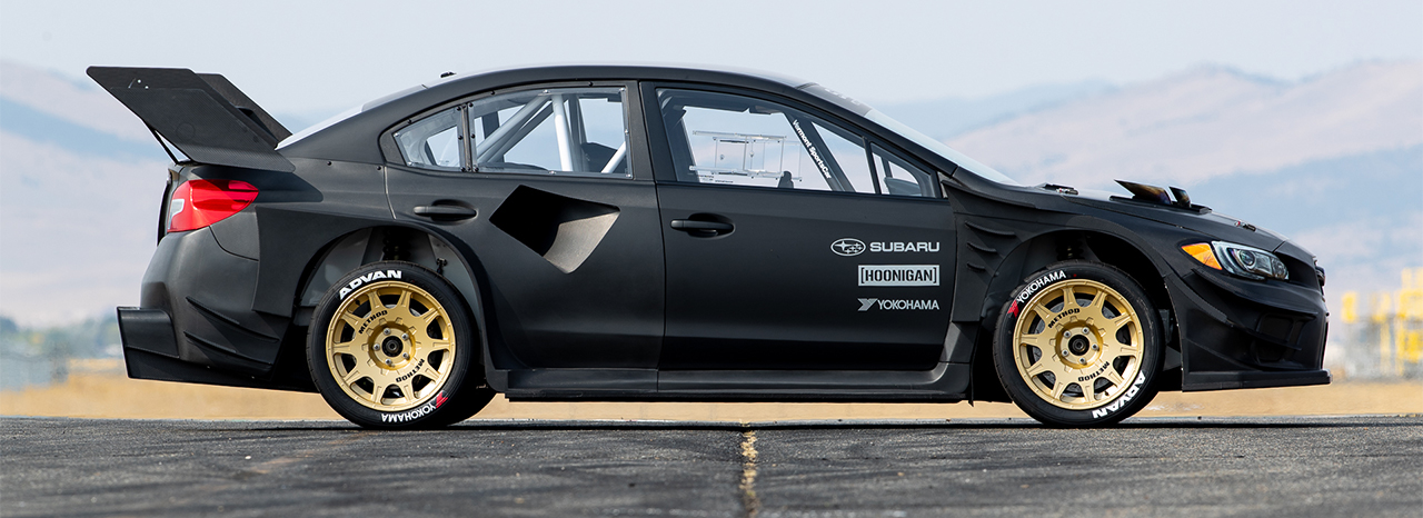 SUBARU REVEALS THE WILDEST WRX STI EVER— TRAVIS PASTRANA'S GYMKHANA STI