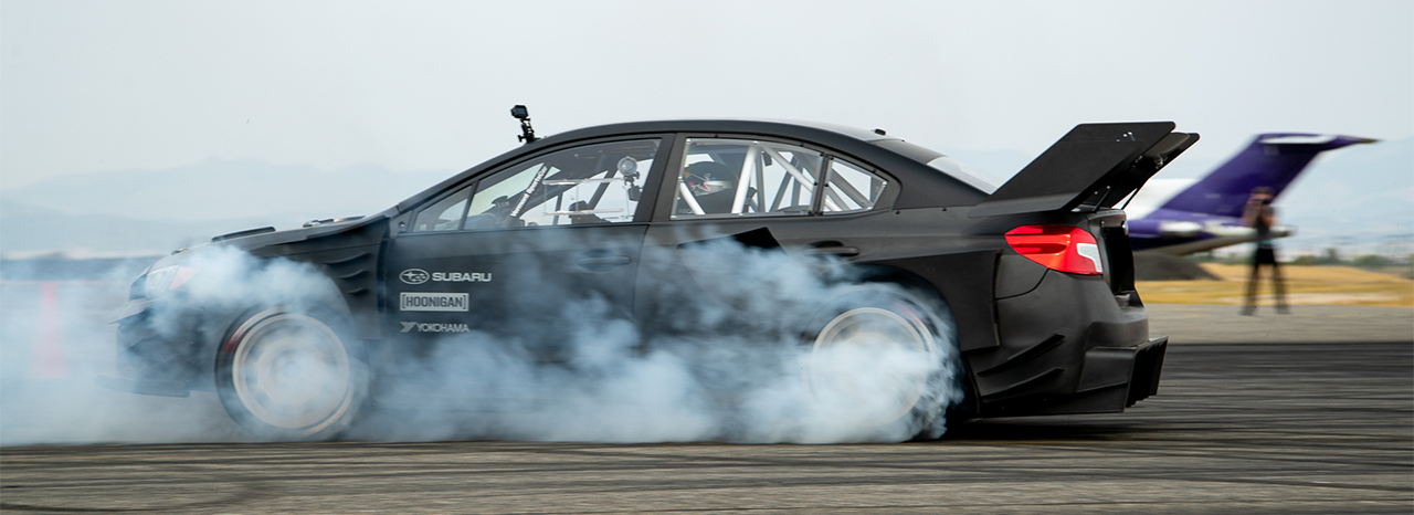 SUBARU ANNOUNCES AIRSLAYER GLOBAL TAKEOVER: COMPETITION AND DISPLAY TOUR FOR THE GYMKHANA 2020 WRX STI