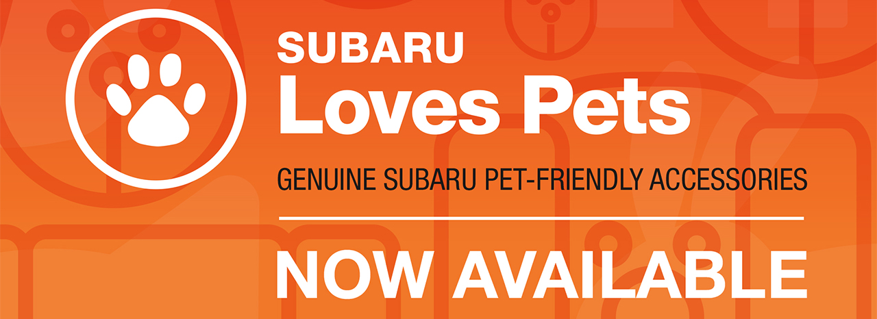 SUBARU OF AMERICA LAUNCHES PET ACCESSORIES LINE TO KEEP PETS PROTECTED AND COMFORTABLE