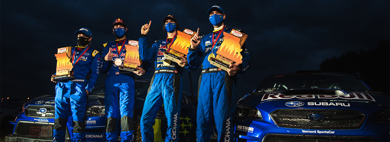 SUBARU SCORES 1-2 VICTORY AT SHOW-ME RALLY; BRANDON SEMENUK TAKES FIRST U.S. WIN